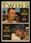 1964 Topps Venezuelan #116   -  Tony Oliva / Jay Ward  Twins Rookies Front Thumbnail