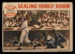 1964 Topps Venezuelan #139   1963 World Series - Game #4 - Sealing Yanks' Doom - Frank Howard Front Thumbnail