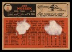 1966 Topps Venezuelan #22  Joe Nossek  Back Thumbnail