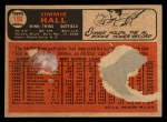1966 Topps Venezuelan #190  Jimmie Hall  Back Thumbnail