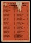 1966 Topps Venezuelan #224   -  Jim Grant / Jim Kaat / Mel Stottlemyre AL Pitching Leaders Back Thumbnail