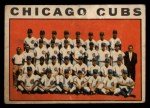 1964 Topps Venezuelan #237   Cubs Team Front Thumbnail