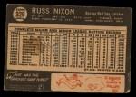 1964 Topps Venezuelan #329  Russ Nixon  Back Thumbnail