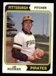 1974 Topps #402  Jim Rooker  Front Thumbnail