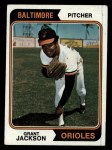 1974 Topps #68  Grant Jackson  Front Thumbnail