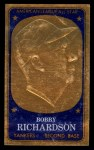 1965 Topps Embossed #65  Bobby Richardson  Front Thumbnail