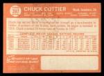 1964 Topps #397  Chuck Cottier  Back Thumbnail