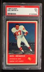 1963 Fleer #54  Mel Branch  Front Thumbnail