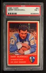 1963 Fleer #67  Gerry McDougall  Front Thumbnail