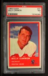 1963 Fleer #37  Billy Cannon  Front Thumbnail