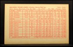 1962 Exhibit Stat Back #22  Frank Malzone  Back Thumbnail