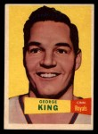 1957 Topps #6  George King  Front Thumbnail