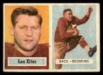 1957 Topps #36  Leo Elter  Front Thumbnail