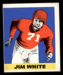 1948 Leaf #45  Jim White  Front Thumbnail