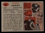 1957 Topps #96  Stan Jones  Back Thumbnail