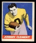 1948 Leaf #47 BRN John Clement  Front Thumbnail