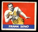 1948 Leaf #64  Frank Seno  Front Thumbnail