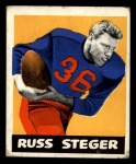 1948 Leaf #74  Russ Steger  Front Thumbnail