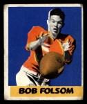 1948 Leaf #56  Bob Folsom  Front Thumbnail