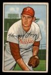1952 Bowman #125  Howard Fox  Front Thumbnail