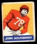 1948 Leaf #94  John Goldsberry  Front Thumbnail