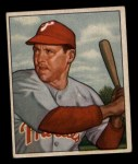 1950 Bowman #228 CPR Bill Nicholson  Front Thumbnail