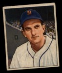 1950 Bowman #243 CPR Johnny Groth  Front Thumbnail