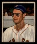 1950 Bowman #153  Walt Masterson  Front Thumbnail