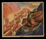 1949 Bowman Wild West #1 E  Trail Drive Front Thumbnail