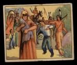1949 Bowman Wild West #3 D  Captives' March Front Thumbnail