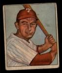 1950 Bowman #30  Eddie Waitkus  Front Thumbnail