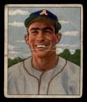 1950 Bowman #158  Paul Lehner  Front Thumbnail