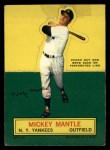 1964 Topps Stand Ups  Mickey Mantle  Front Thumbnail