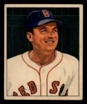 1950 Bowman #187 xCPR Lou Stringer  Front Thumbnail