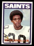 1972 Topps #321  Delles Howell  Front Thumbnail