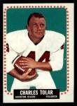 1964 Topps #86  Charles Tolar  Front Thumbnail