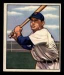 1950 Bowman #211 CPR Charlie Keller  Front Thumbnail