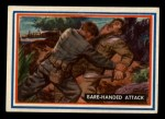 1953 Topps Fighting Marines #59   Bare-Handed Attack Front Thumbnail