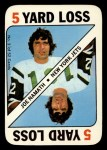 1971 Topps Game #3  Joe Namath  Front Thumbnail