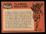 1966 Topps Batman Black Bat #51 BLK  Flaming Welcome Back Thumbnail