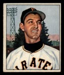 1950 Bowman #201 CPR Pete Castiglione  Front Thumbnail