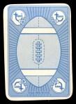 1971 Topps Game Inserts #51  Sonny Jurgensen  Back Thumbnail