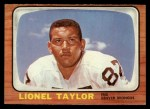 1966 Topps #45  Lionel Taylor  Front Thumbnail