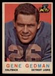 1959 Topps #35  Gene Gedman  Front Thumbnail