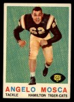 1959 Topps CFL #72  Angelo Mosca  Front Thumbnail