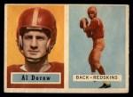 1957 Topps #24  Al Dorow  Front Thumbnail