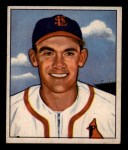 1950 Bowman #209  Johnny Lindell  Front Thumbnail