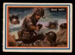 1953 Topps Fighting Marines #64   Dead Shot  Front Thumbnail