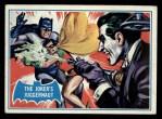 1966 Topps Batman Blue Bat Back #23 BLU  The Joker's Juggernaut Front Thumbnail