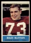 1964 Philadelphia #188  Riley Mattson  Front Thumbnail